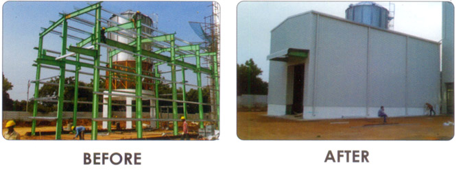 Pre Engineered Buildings Frames Sheds